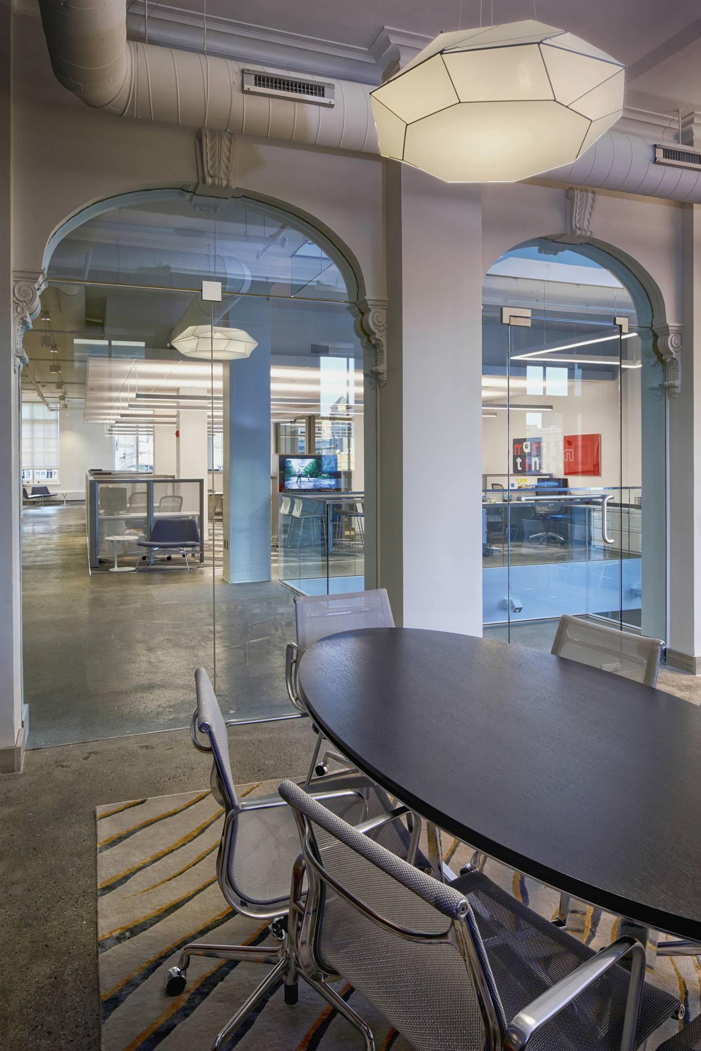 contemporary office design ceo offices canon design martin group