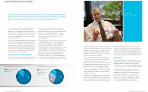 CEO portrait annual report