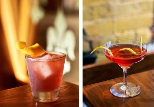 food and beverage photographer mixed drinks