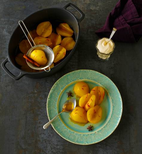 Zakarian Poached Pears
