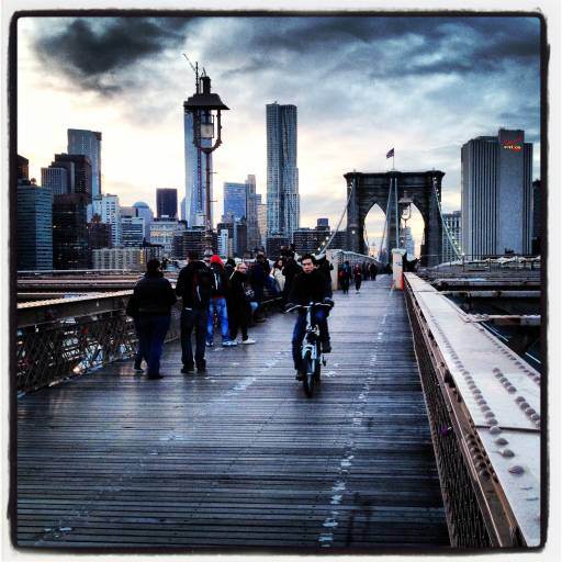 instagram new york city brooklyn bridge