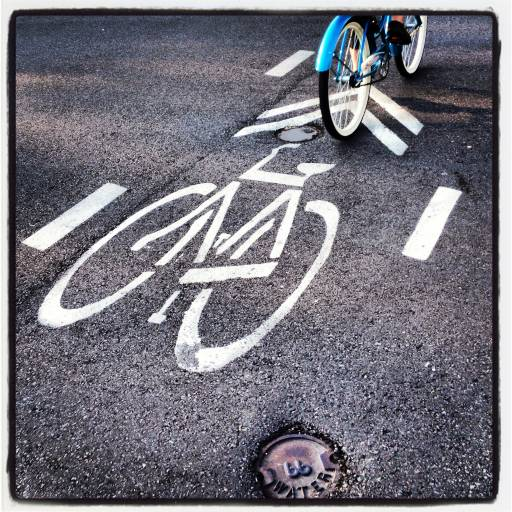 instagram urban design photography dedicated bike lane
