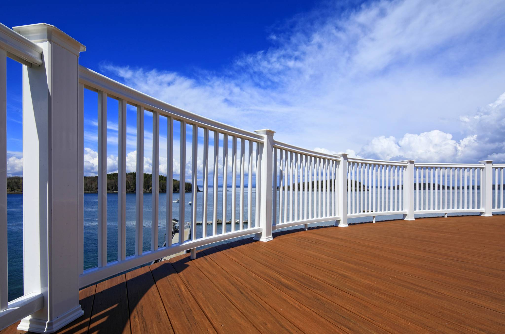 Product photography...Azek deck and railings