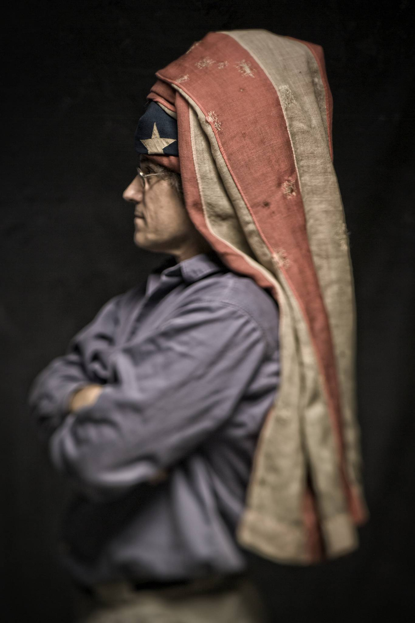 American Stories...Flag Portraits