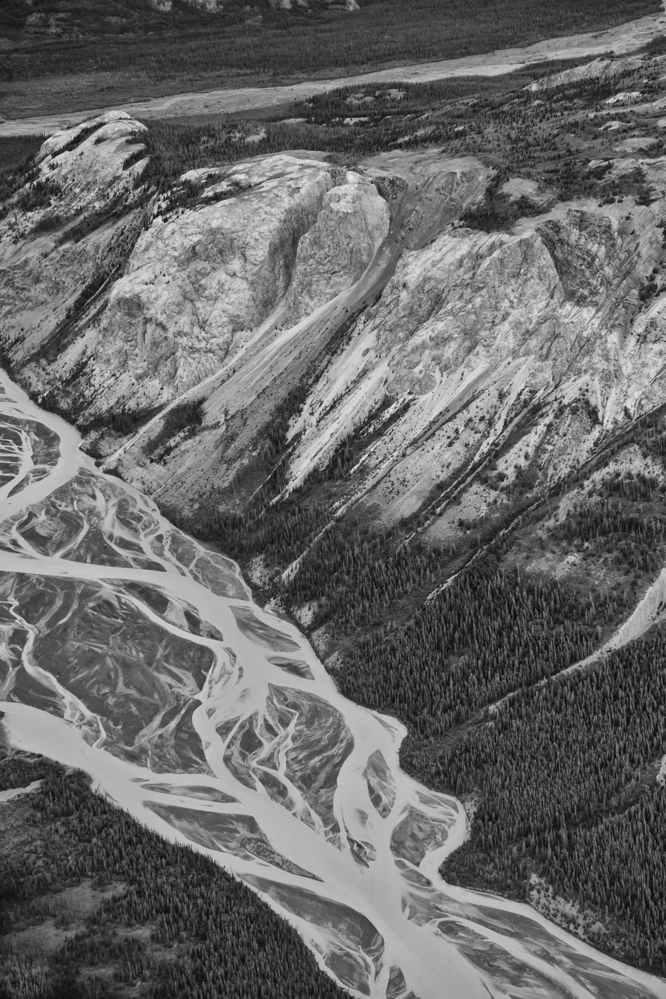 aerial photography Yukon Territories