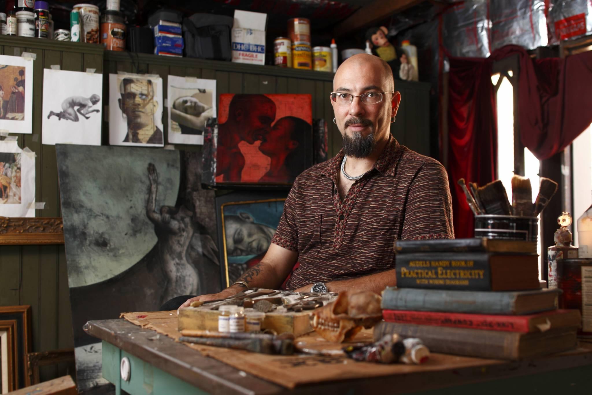Environmental Portrait Of The Artist Craig Larotunda