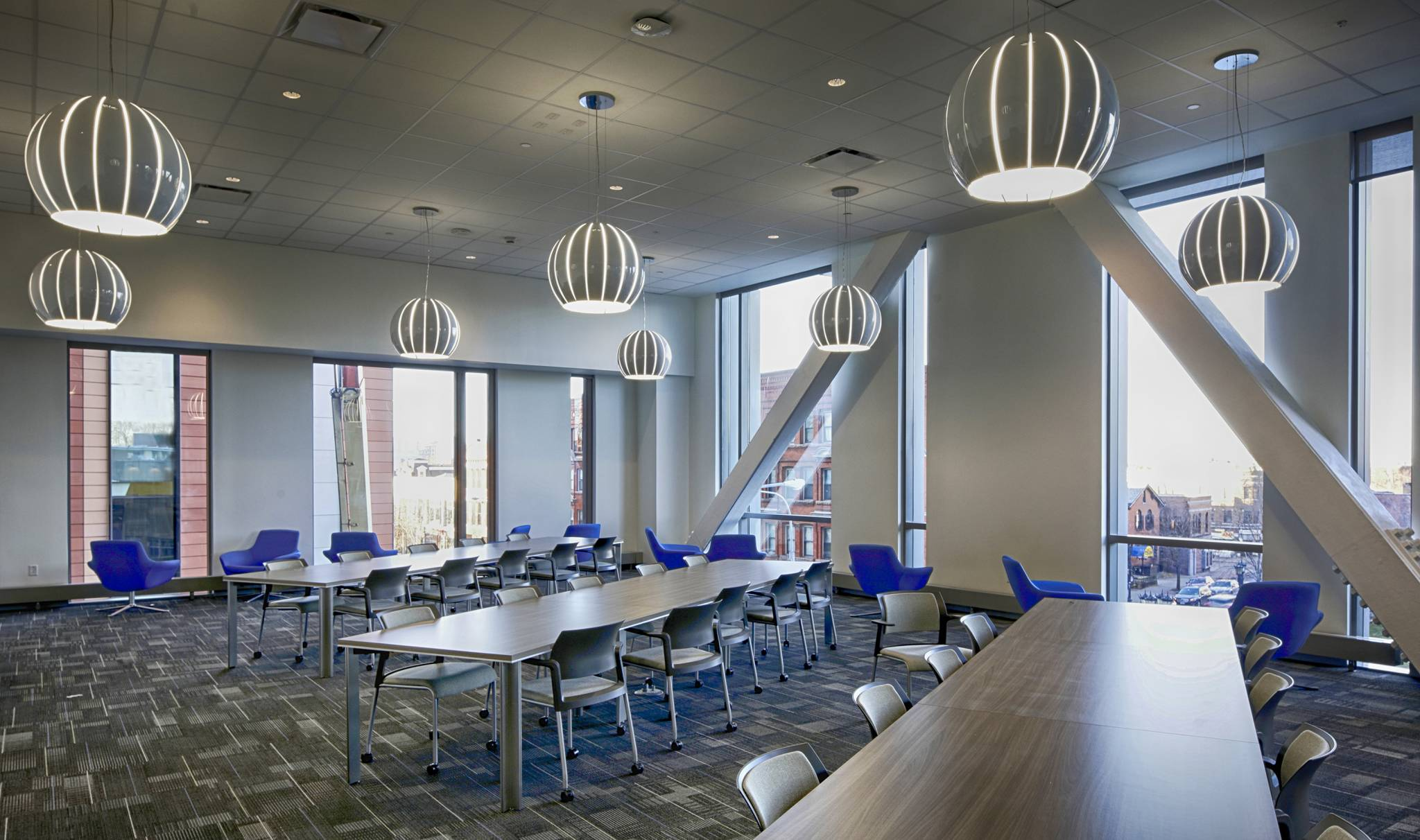 UB Med School reading room