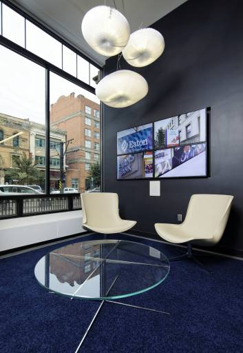 WNY Architectural Photography Streetscape Waiting Room