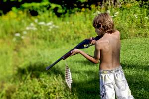 boy with bb gun