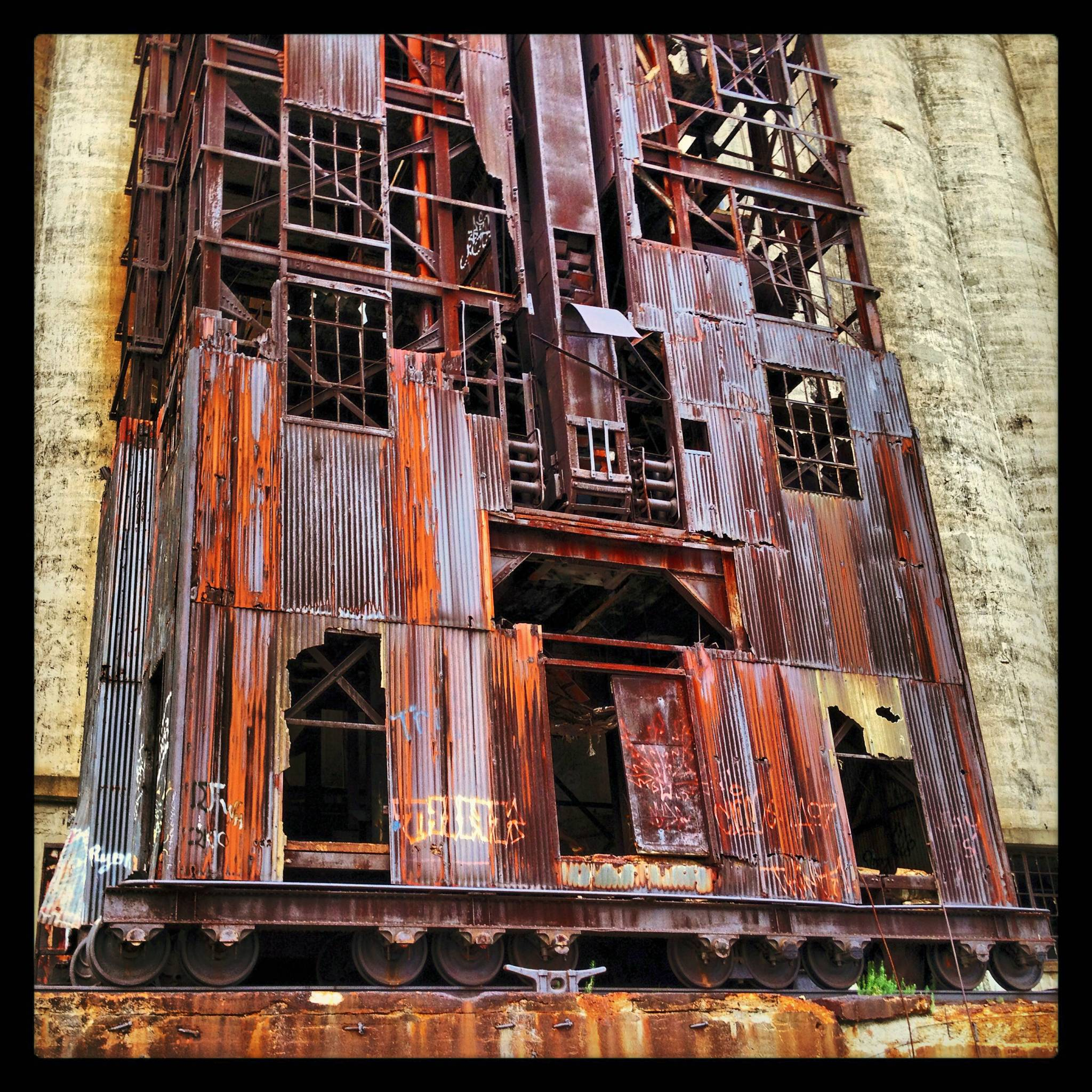 Industrial architecture in the Rust Belt