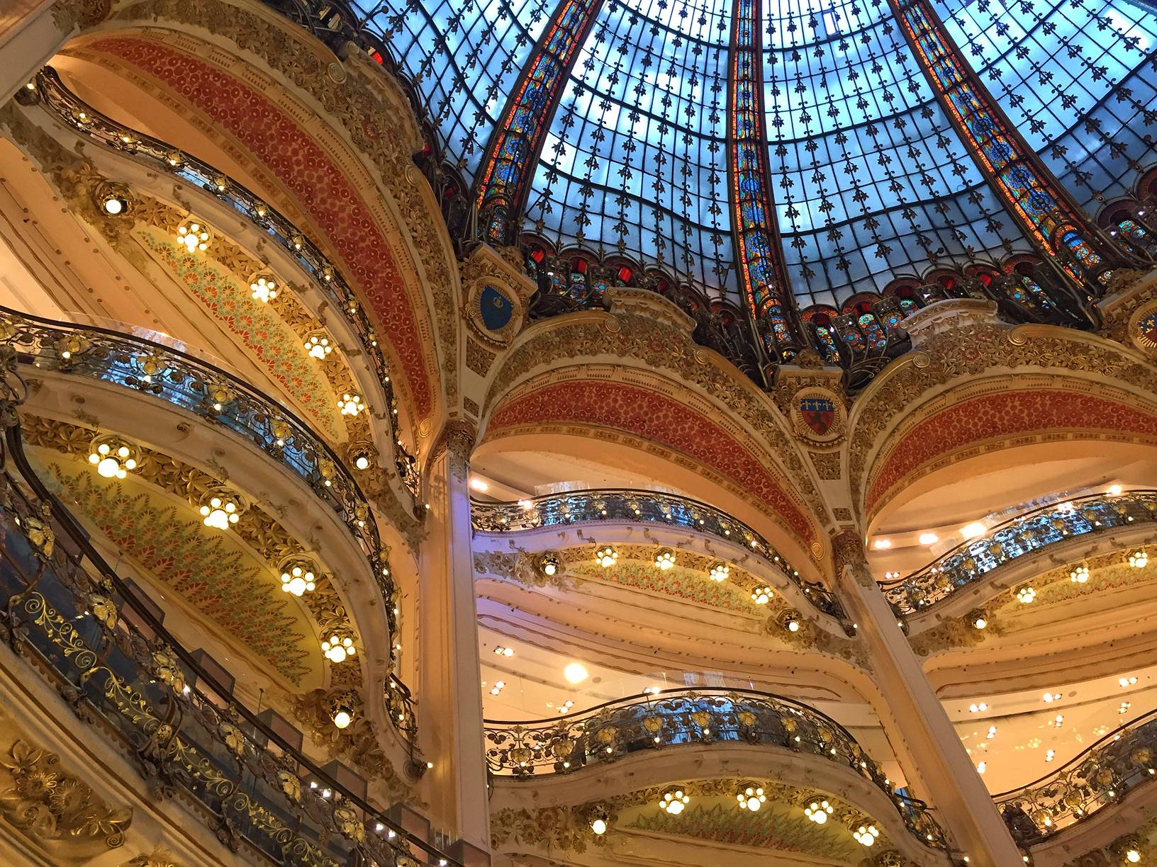 Architectural Photgraphy...Travel Photography...Galeries Lafayette