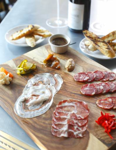 charcuterie food photography
