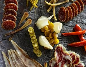 Buffalo Food Photography Charcuterie Plate