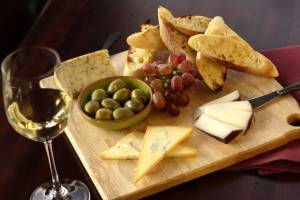 food photo artisan cheese plate