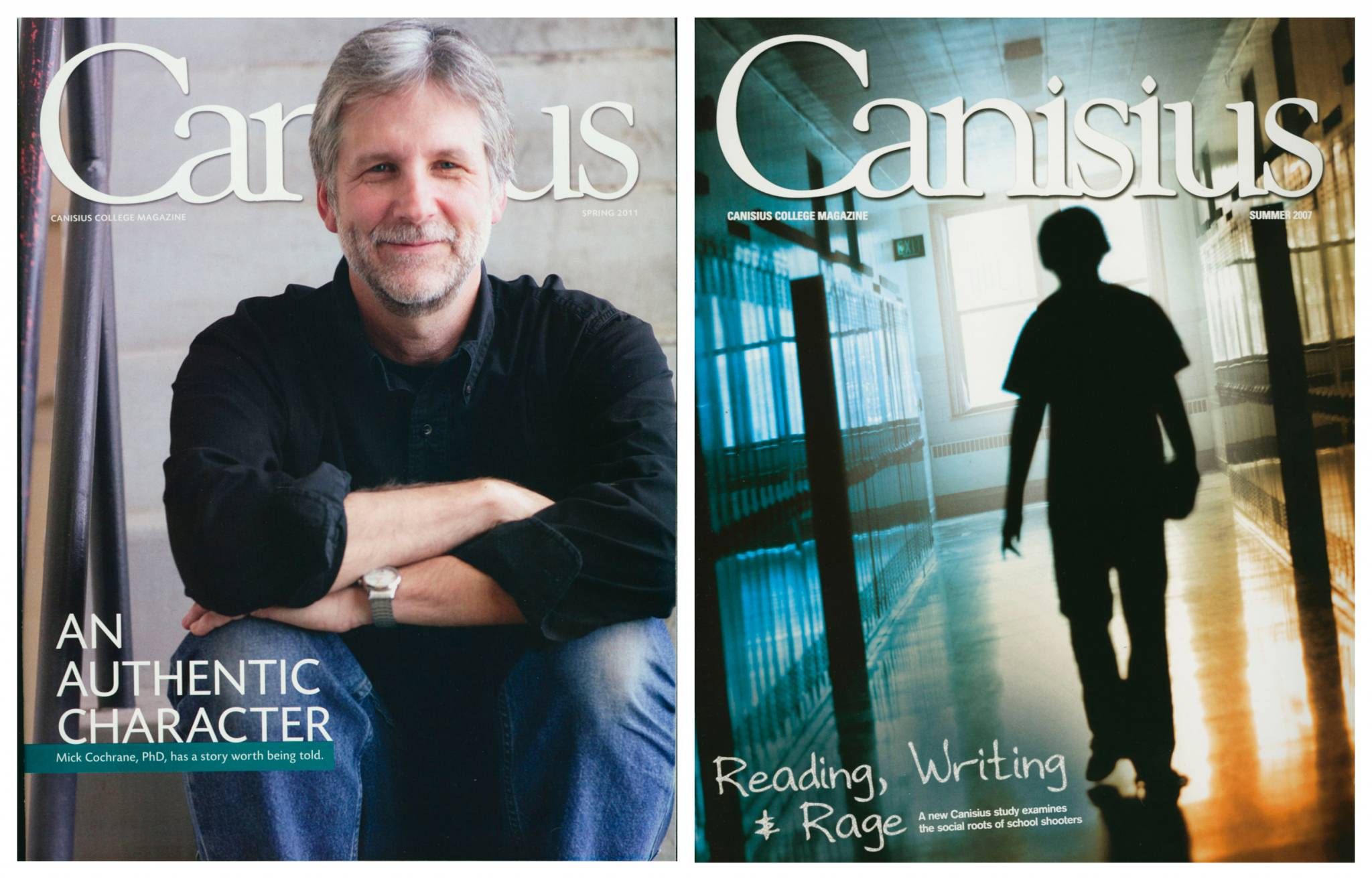 canisius college alumni magazine author mick cochrane